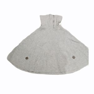 Gap turtle neck gray  poncho sweater